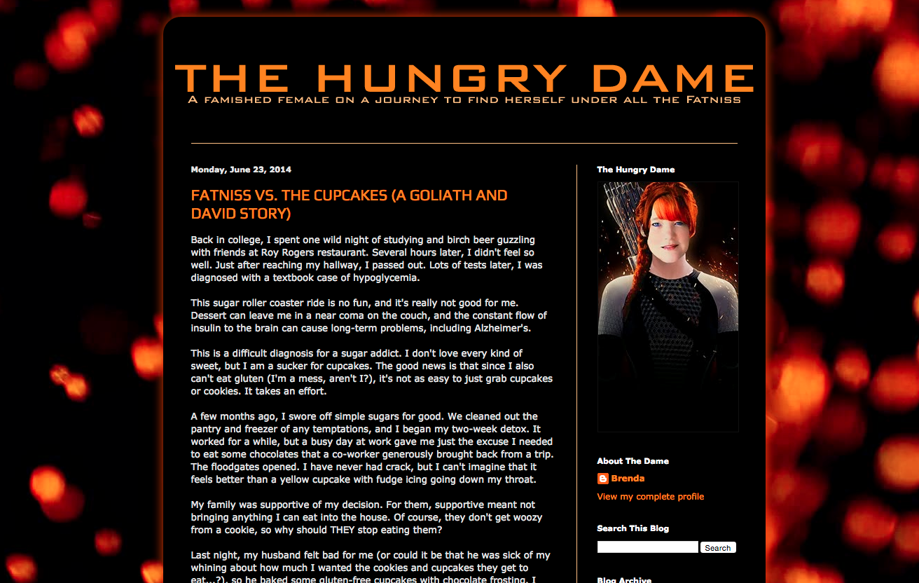 Hungry Dame – Blog Redesign