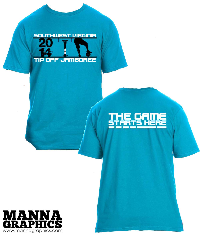 SWVA Tipoff Shirt Design