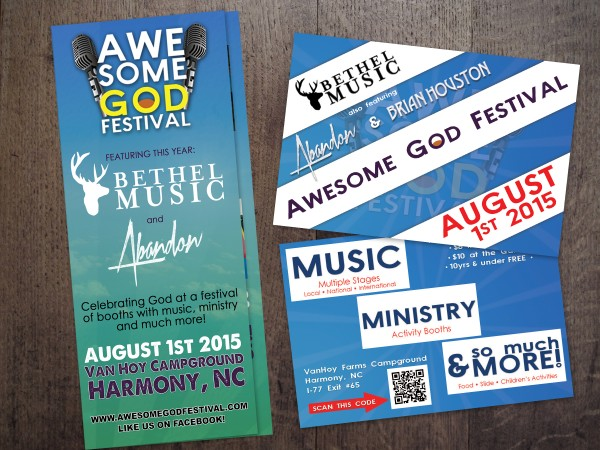 Awesome God Festival – Advertising