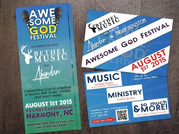 Awesome God Festival – Advertising