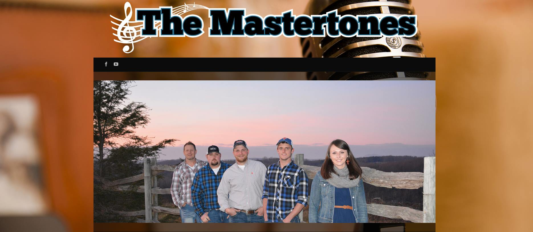 The Mastertones Website