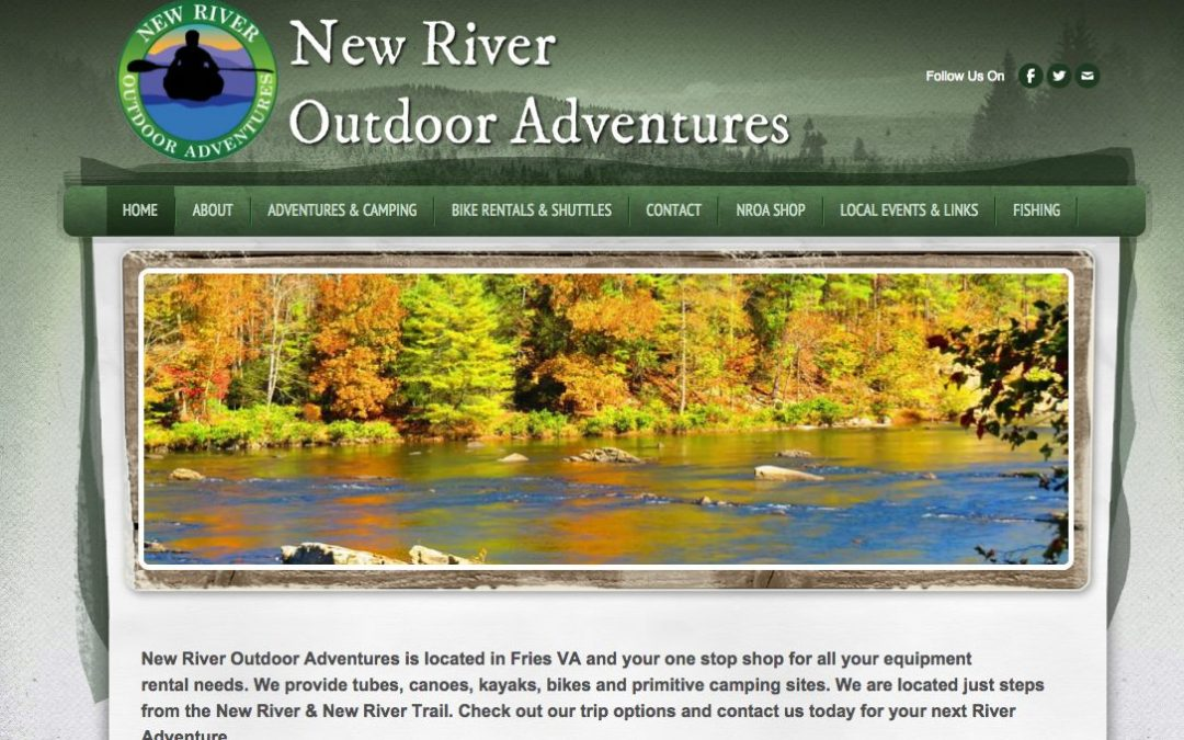 New River Outdoor Adventures – Website