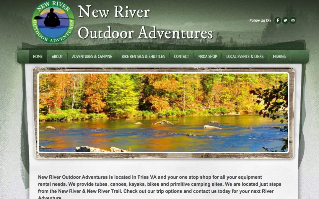 New River Outdoor Adventures – Website