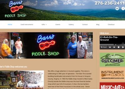 Barr's Fiddle Shop