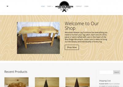 Mountain Breeze Log Furniture