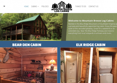 Mountain Breeze Log Cabin (galaxcabinrentals.com)