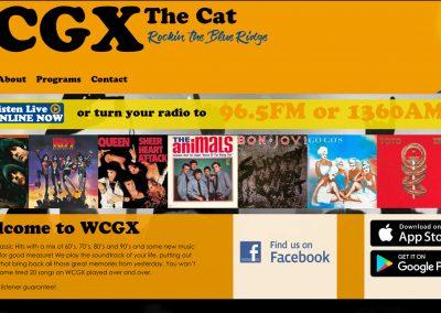 WCGX Radio Station