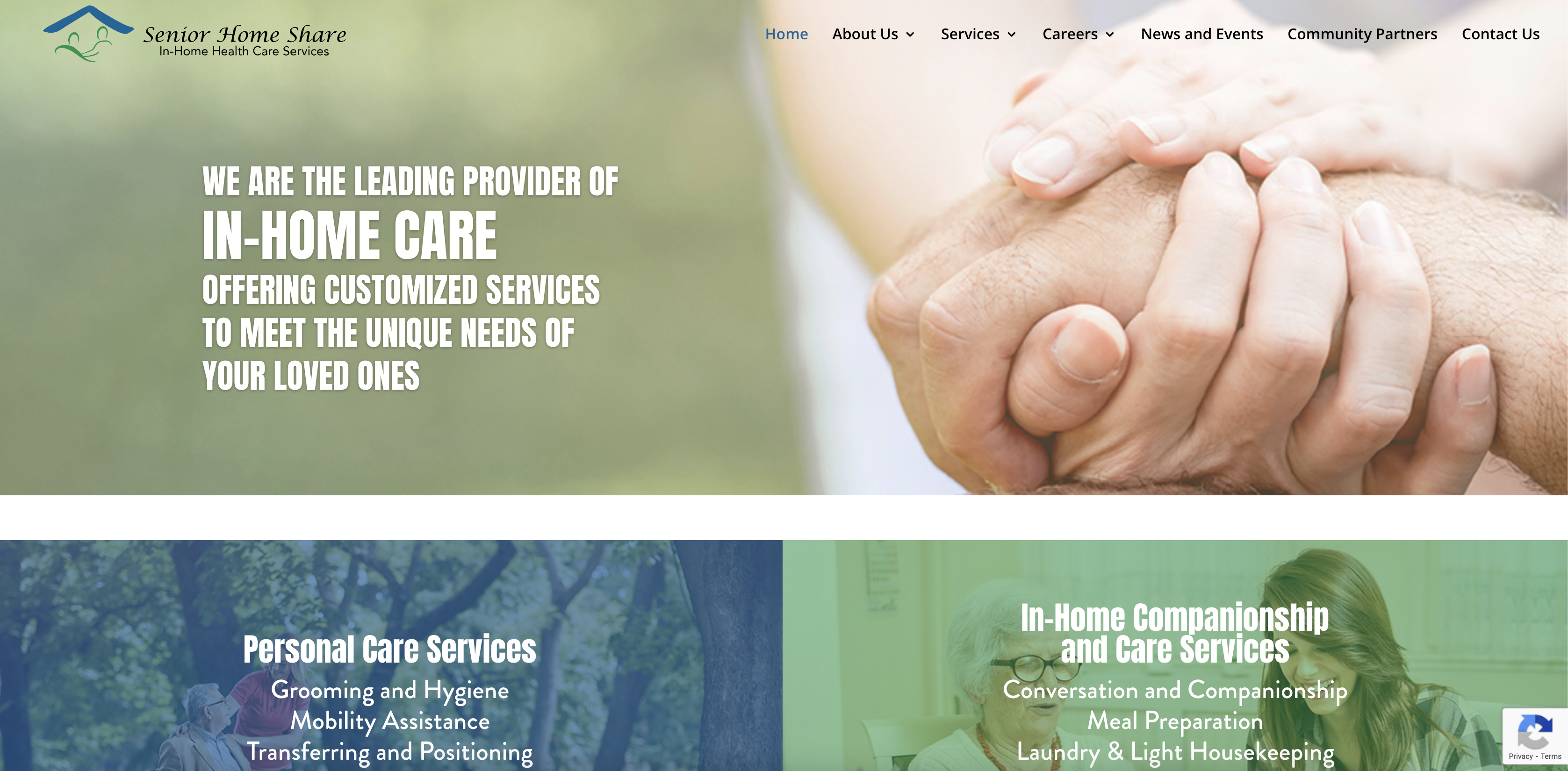 New Website for Senior Home Share
